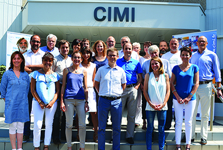 Photo de groupe du Cimi