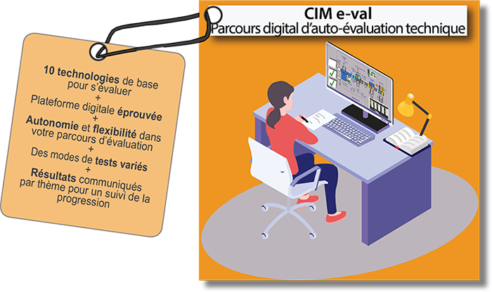 CIM e-val : Parcours digital d'auto-évaluation technique
